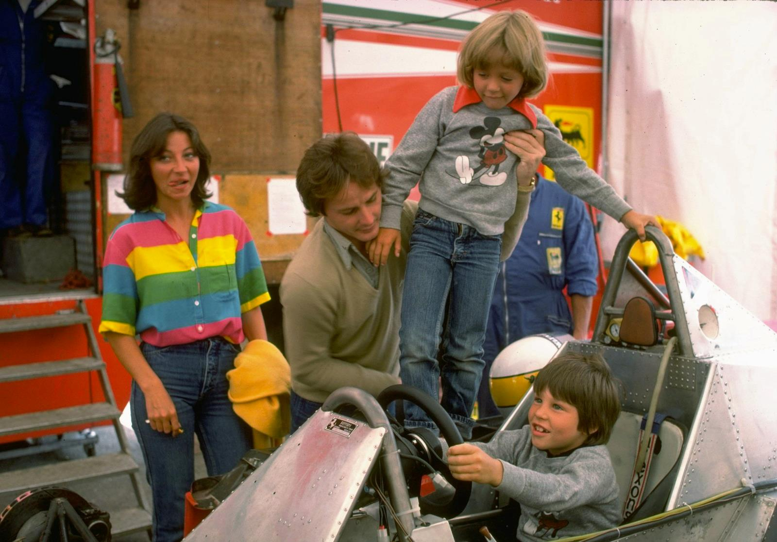 1979 - Canada - Villeneuve Famly (Joann, Gilles, Melanie, and Jacques ).jpg