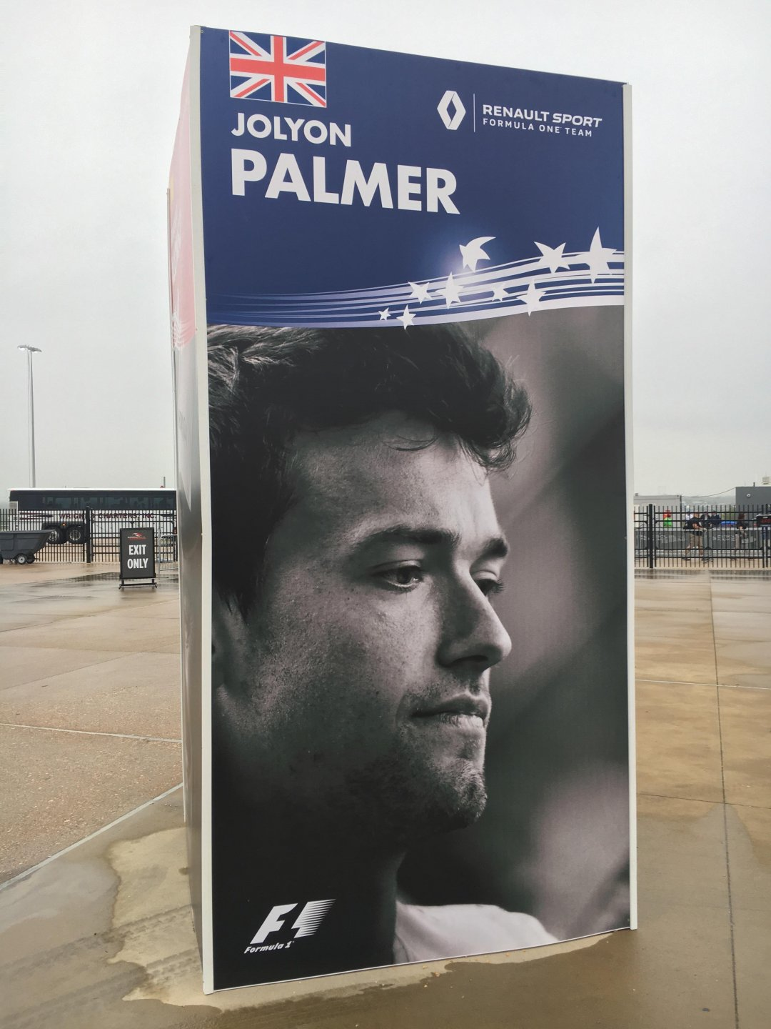 Palmer - Exit only.JPG